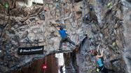 Rock Climbers Throw Down for a Good Cause