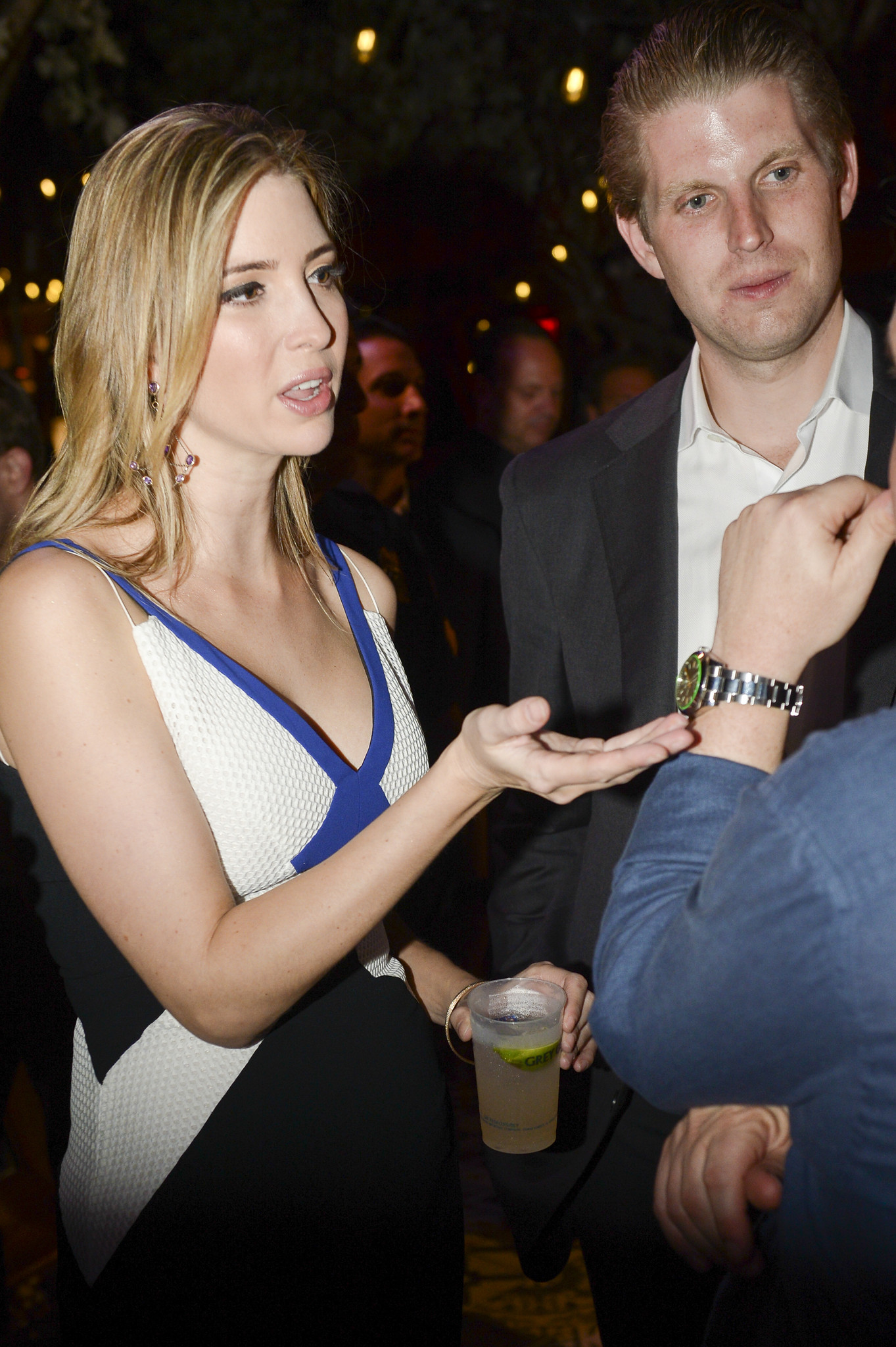 World Golf Championships-Cadillac Championship parties - Ivanka Trump and Eric Trump