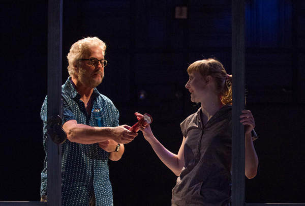 "William Petersen and Rae Gray in ""Slowgirl"" at the Geffen Playhouse."