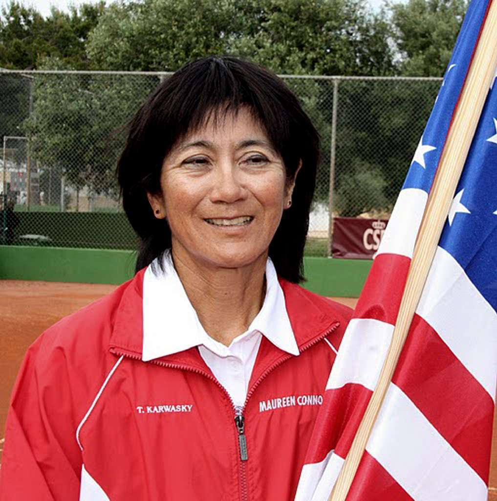 Glendale resident Tina Karwasky was selected Wednesday as one of 40 tennis players who will represent the United States at the 34th annual International Federation Team Senior World Team Championships in late April. (File Photo)