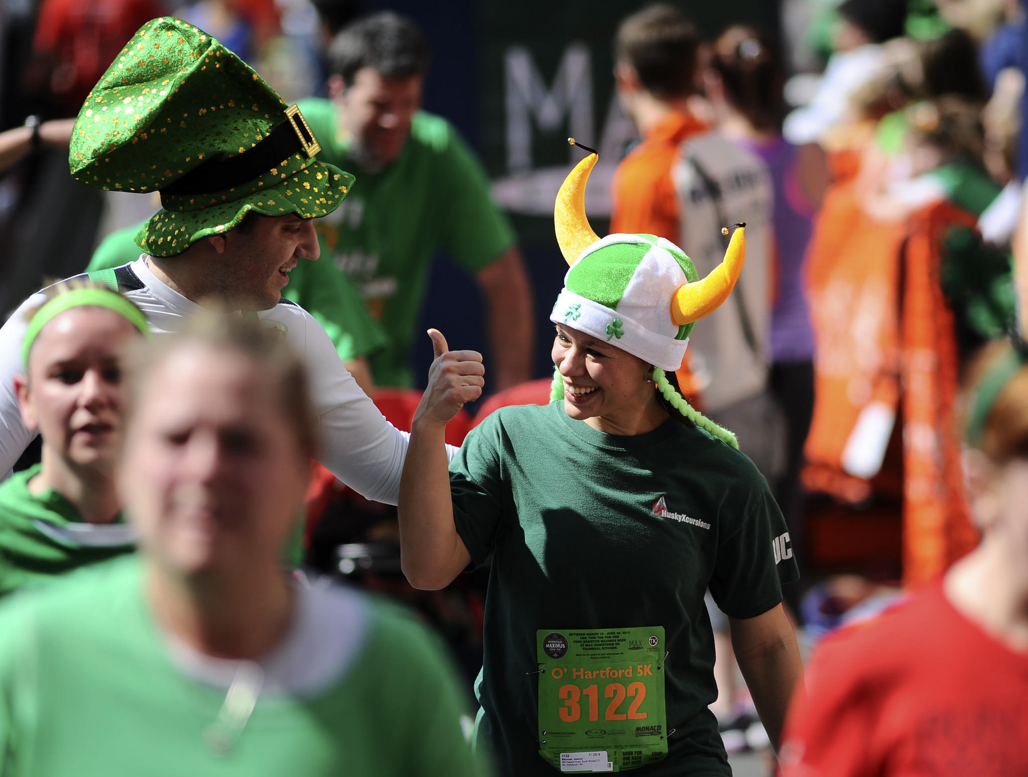 Everyone is Irish at the Max's O'Hartford 5K.
