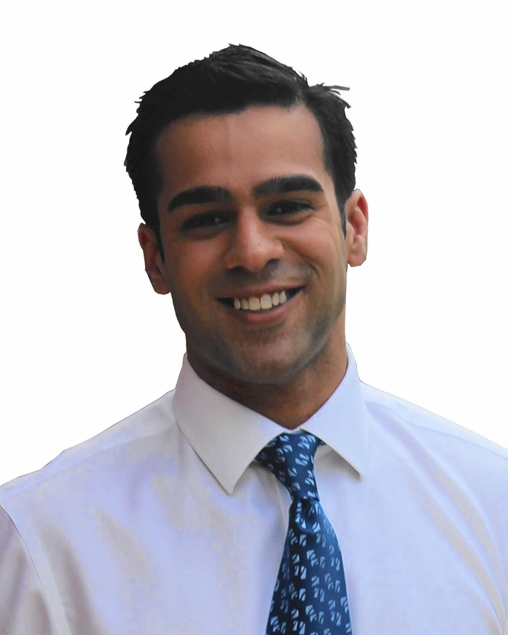 "Park Ridge native Mohammed ""Mo"" Khan is seeking the seat of Illinois State Rep. in the 20th District. (Source: Mo Khan)."