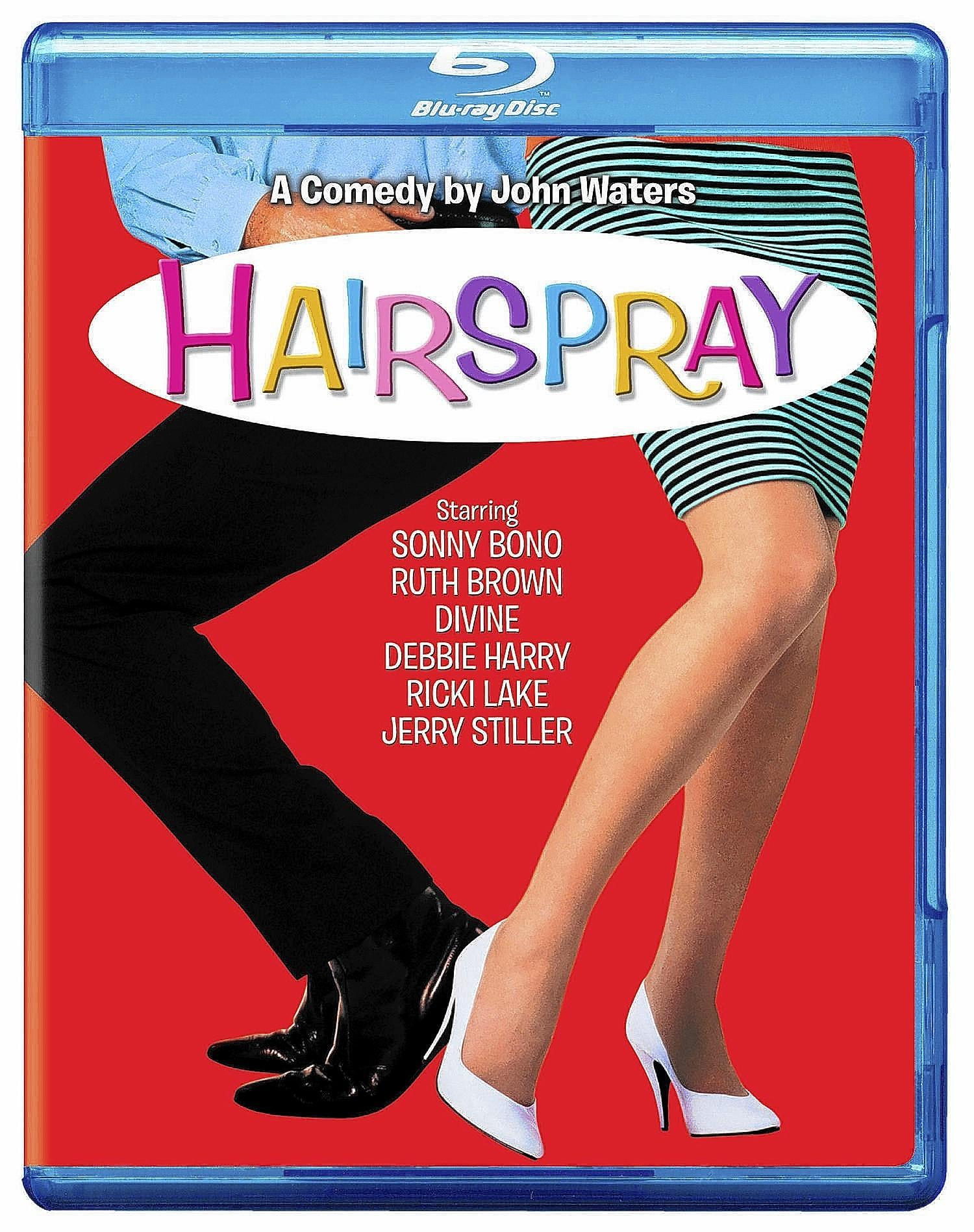 The John Waters film 'Hairspray,' filmed partly in Allentown, is out on Blu-ray.