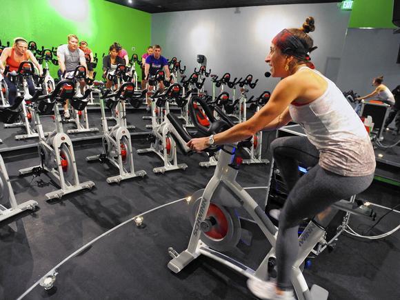 Shoot REV60 Zen class (spinning + yoga) at REV Cycle Studio