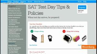 College Board Reformats the SAT