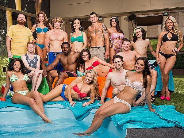 """The cast of the 15th season of CBS's """"Big Brother,"""" which aired in 2013."""