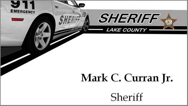 Sheriff's deputy hurt in Lake County accident