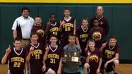 Hickory Creek 7th Grade Boys Basketball Team wins Regional Championship