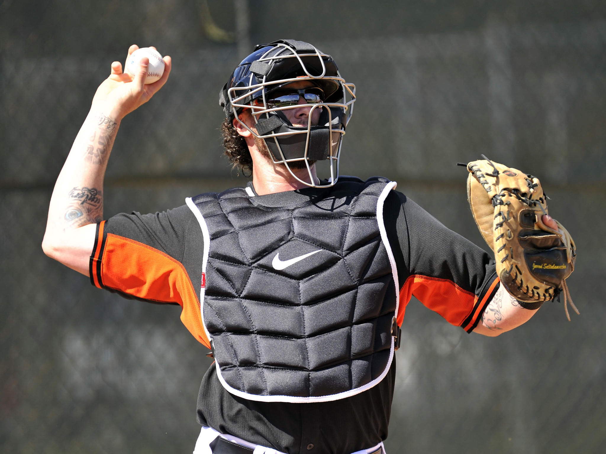 "Miami Marlins catcher Jarrod Saltalamacchia had to overcome a case of the ""yips"" before starring for the Red Sox."