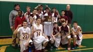 Hickory Creek 8th Grade Boys Basketball Team wins IESA Regional Championship