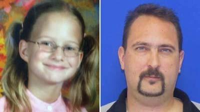 Timothy Virts, right, is a suspect in the abduction of daughter Caitlyn Virts, police say.
