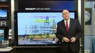 Video: 2014's first 50-degree temp possible Monday