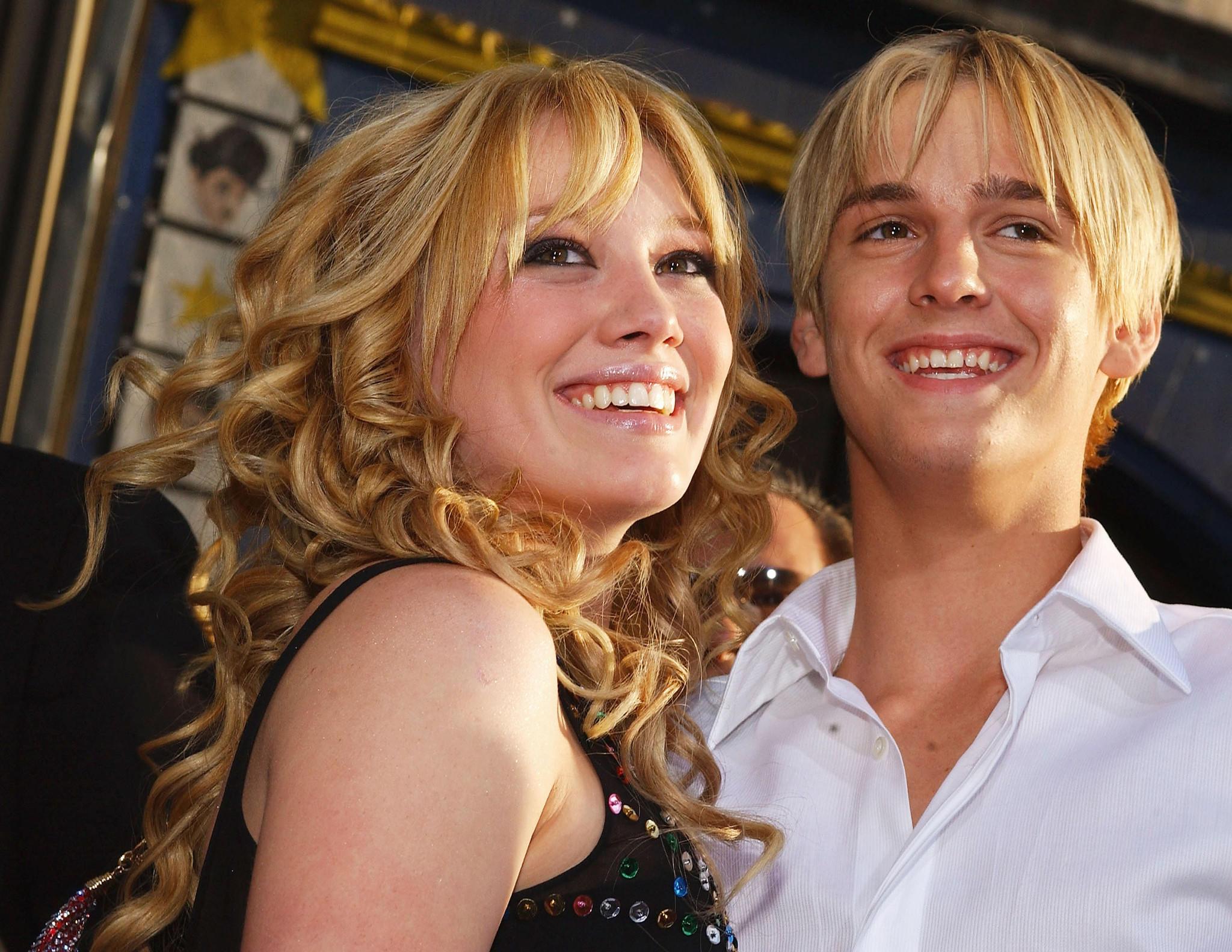 Haylie Duff And Hilary Duff 2003