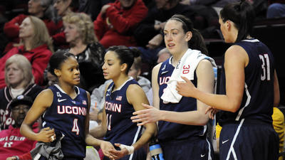 UConn's Dolson, Hartley, Jefferson, Stewart On AAC First Team