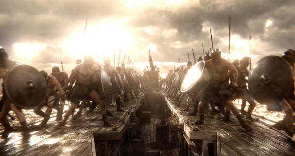 "A scene from ""300: Rise of an Empire."""