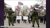 Russian Power Play: Crimea Vote On Joining Russia (Wochit)