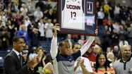 UConn Men Celebrate Senior Night