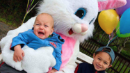 Photos: Scared of the Easter Bunny