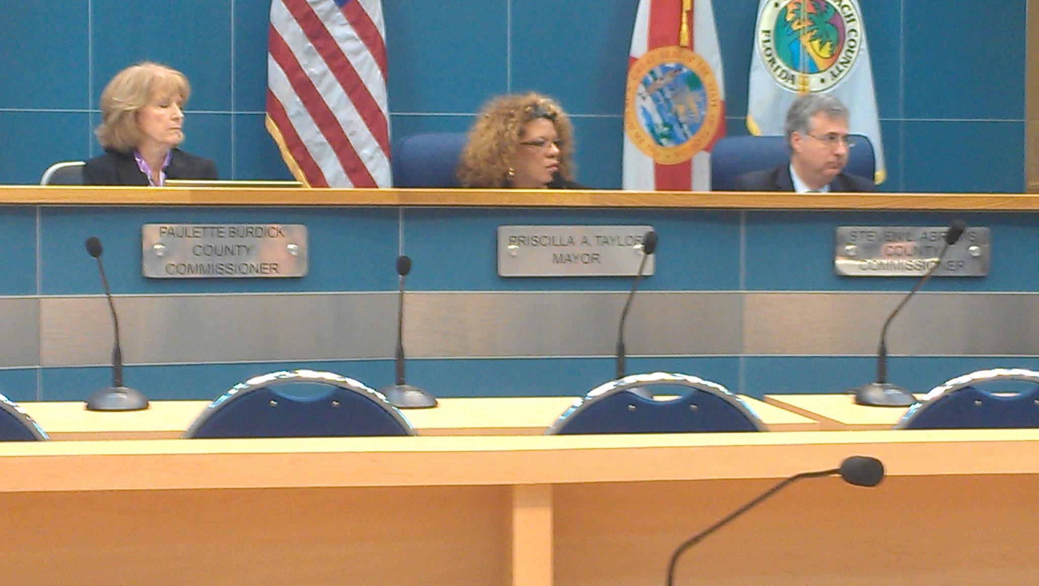 Palm Beach County Mayor Priscilla Taylor launched the effort to hold a Mayor's Ball on March 8 that would raise money for the county's homeless resource center.