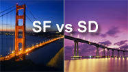 San Francisco vs. San Diego: Which is the better getaway?