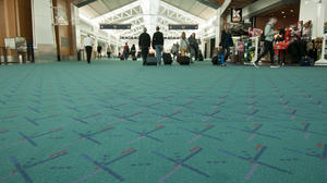 Oregon: Tweet if you love Portland airport's carpet (and many do)