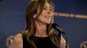 Guild honors Kathryn Bigelow as best director for 'The Hurt Locker'