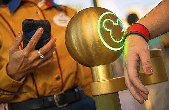 Disney wristbands act as tickets, keys and more.