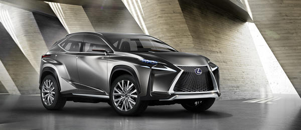 Lexus will unveil the all-new NX compact crossover at the 2014 Beijing International Auto Show on April 20. The all-new model will resemble the LF-NX concept seen here, which Lexus debuted at the Frankfurt Auto Show in 2013.