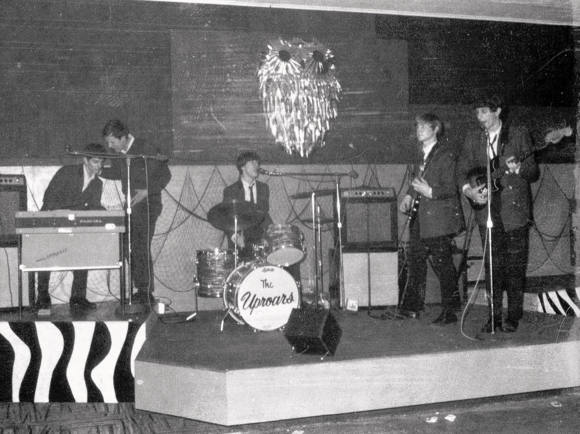 The Uproars played at the Purple Owl 1966-67.