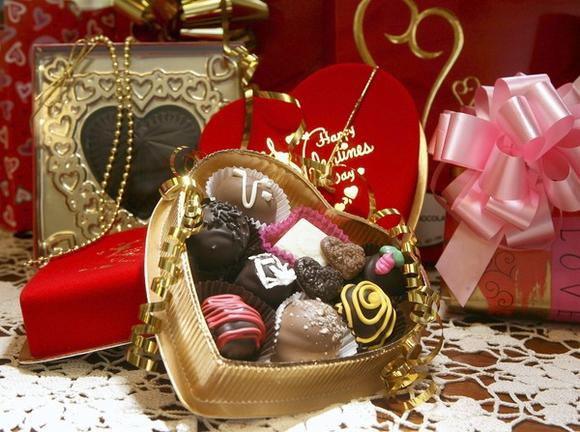 A collection of chocolates