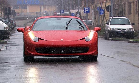 The 2010 Ferrari 458  Italia