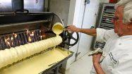 Paul Gauweiler and his baumkuchen machine