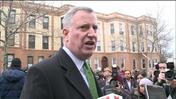 3 months in, Mayor de Blasio faces low approval rating