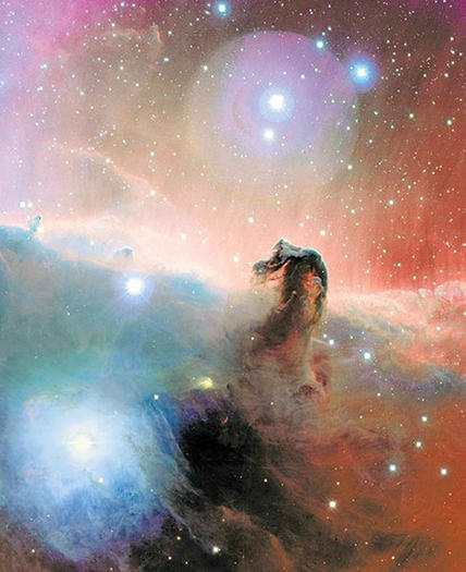 Horsehead Nebula, from the Orion molecular cloud.