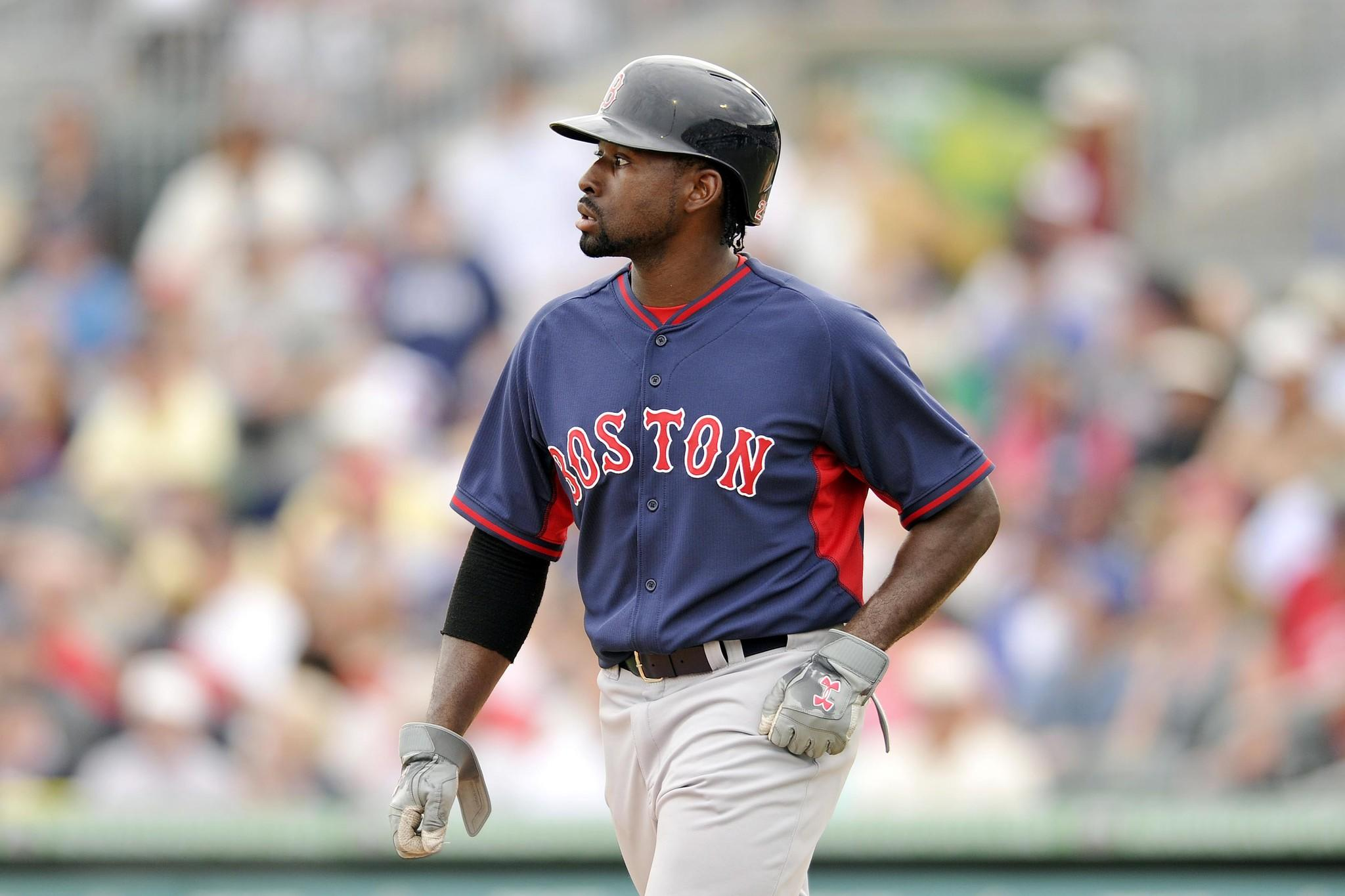 Center fielder Jackie Bradley Jr. was the only player in Thursday's lineup against the Miami Marlins expected to make the Red Sox's Opening Day roster.