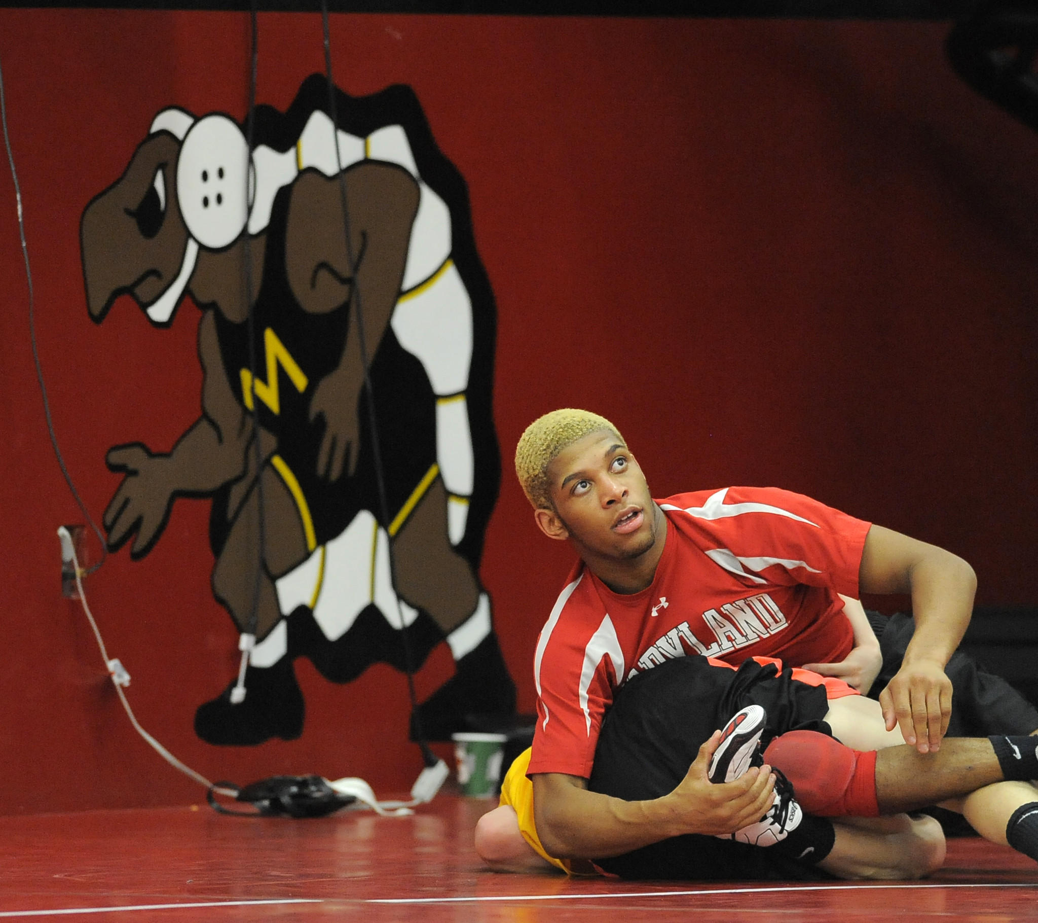Shyheim Brown and the Maryland wrestling team are looking forward to a greater challenge when they enter the Big Ten, which has been dominant nationally.