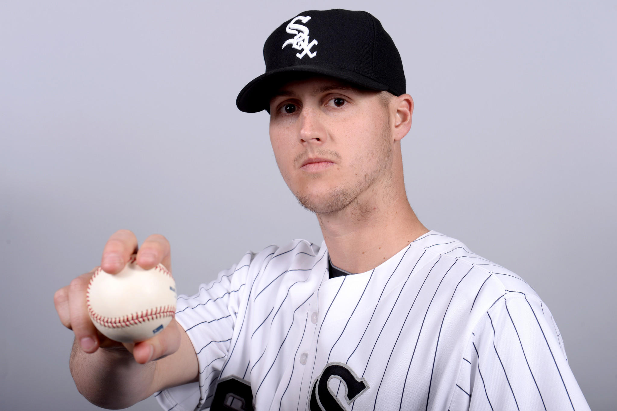 Chicago White Sox relief pitcher Nate Jones.