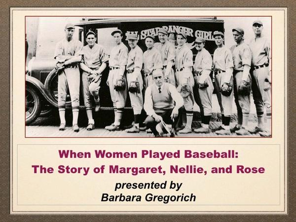 Women in Baseball Talk Set at Des Plaines History Center