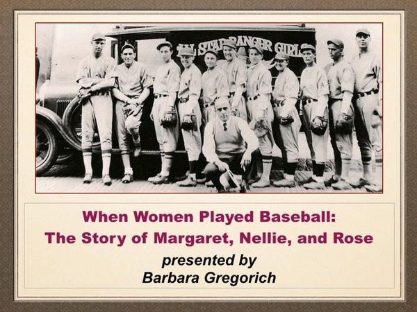 Women in Baseball Talk Set at Des Plaines History Center
