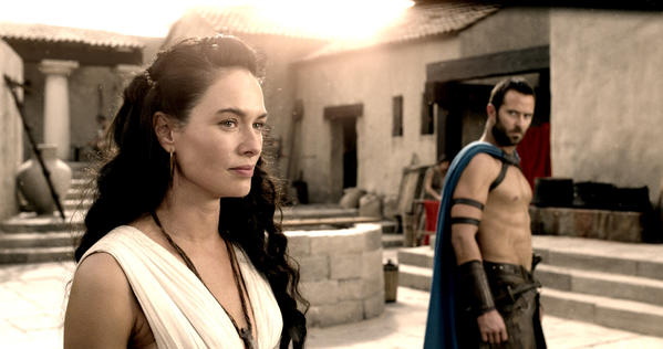 "Lena Headey in ""300: Rise of an Empire."""