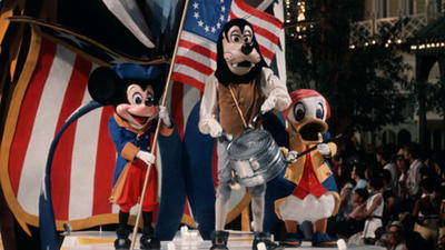 Pictures: Walt Disney World parades through the years