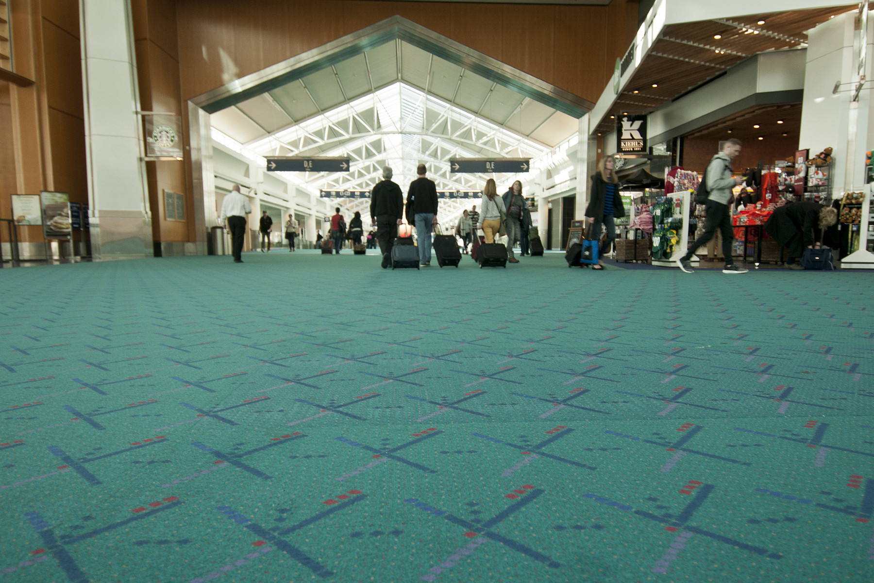 Airport Carpets From Portland To LAX LA Times