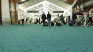 Airport carpets from Portland to LAX