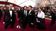 Panorama: Jeremy Renner on the red carpet at the Academy Awards