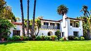 A classic Spanish-style house in Beverly Hills