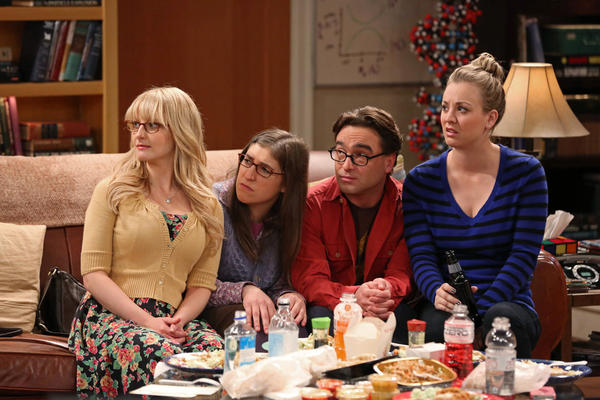 "CBS' ""Big Bang Theory"" drew nearly 18 million viewers Thursday night."