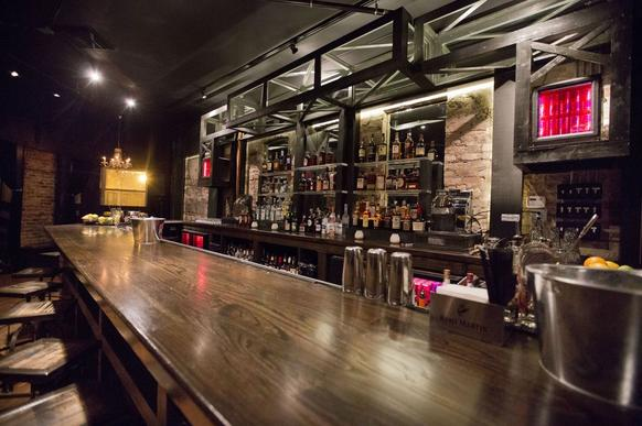 "Logan Square ""upscale dive"" bar East Room opened in early February at 2828 W. Medill Ave."
