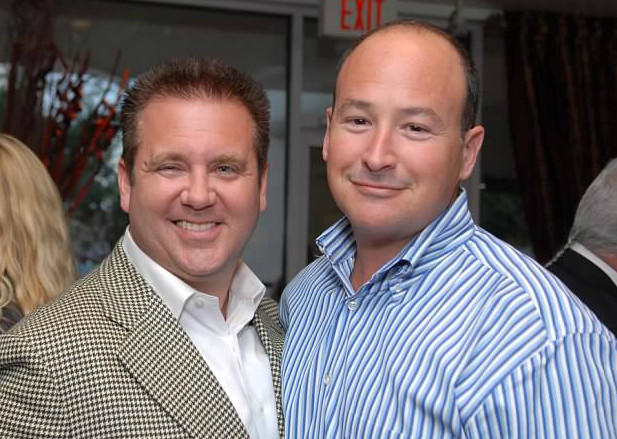 Scott Rothstein, at left, and Russell Adler are seen in this file photo.