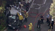 LAPD training officer dies in crash; 2nd officer in critical condition