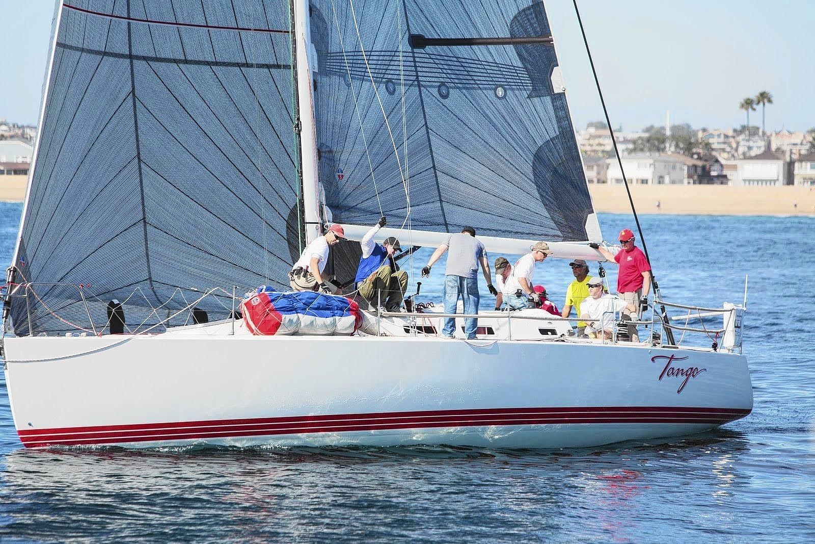 Tango takes the early lead in the Newport Beach High Point Series.